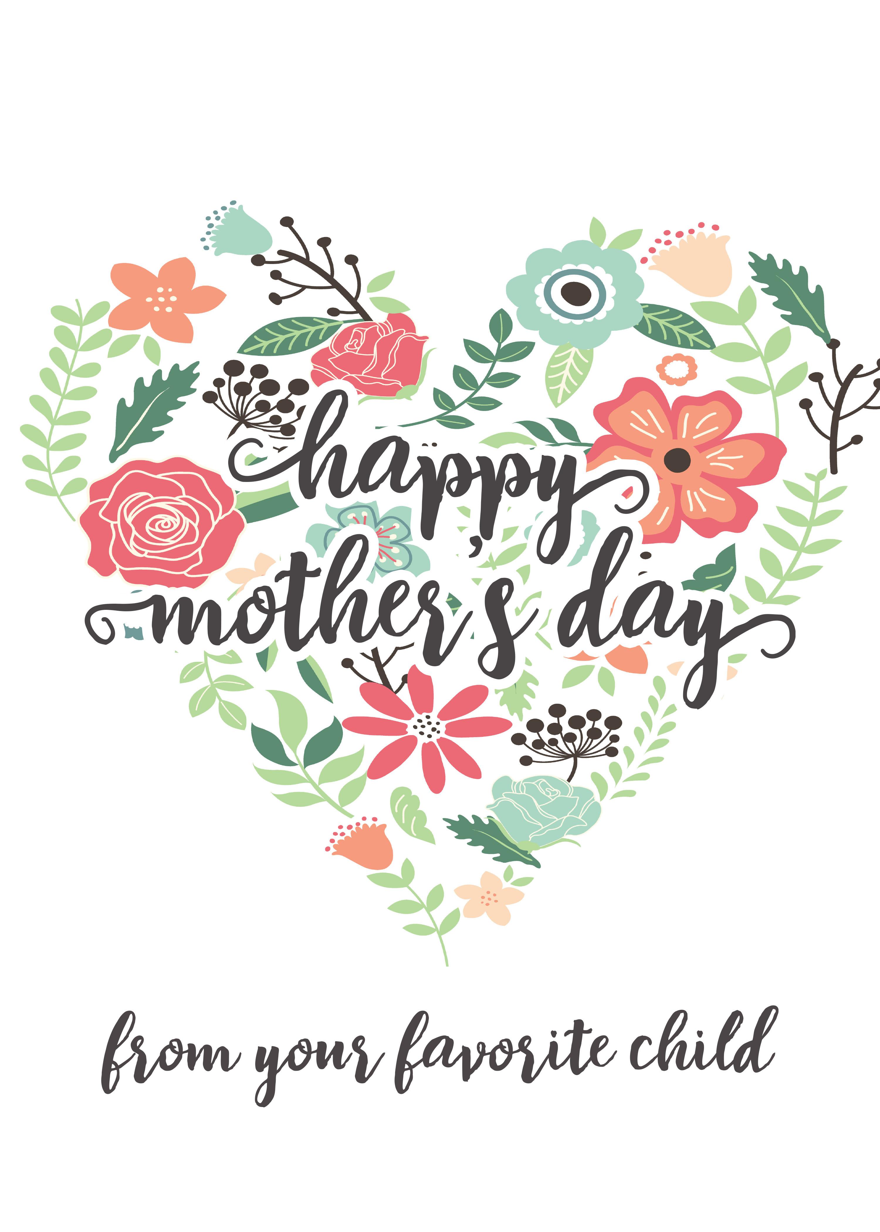 printable mothers day cards for koran sticken co rh koran sticken co