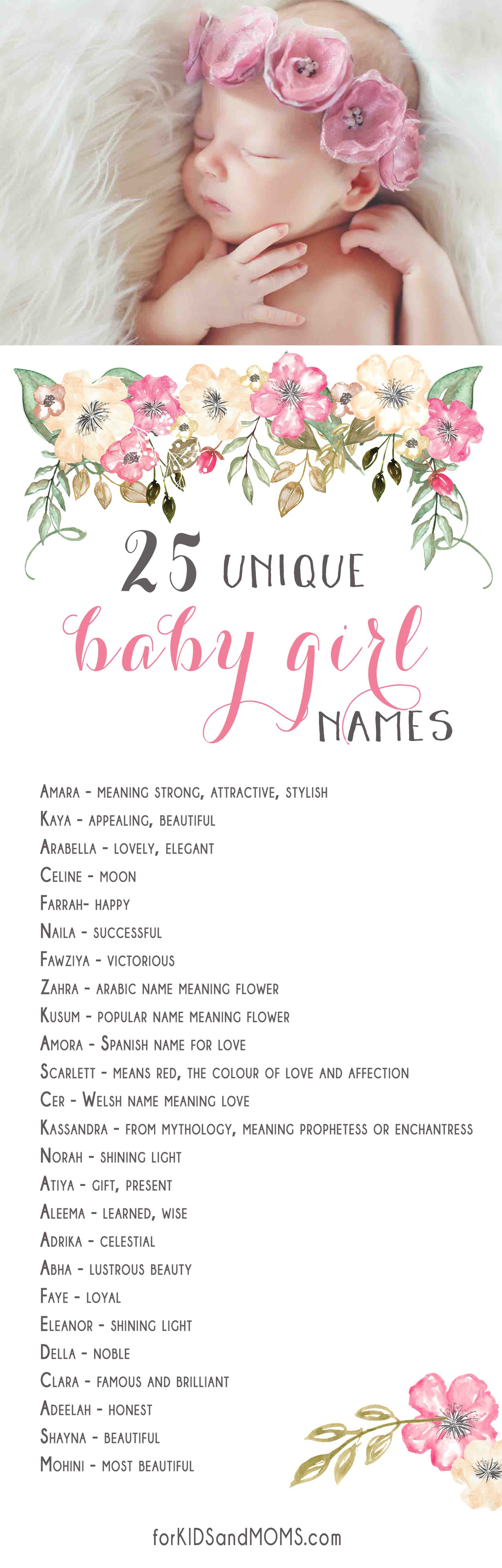 17 Best images about Baby Names on Pinterest | Life online ... |Unique Baby Names And Meanings