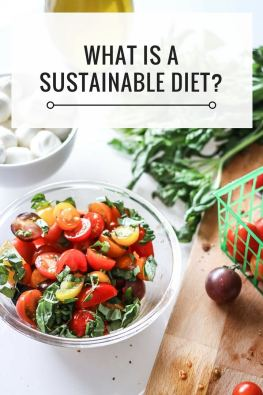 What is a sustainable diet? Food sustainability, sustainable diets, and how small shifts have a big impact on the health of the environment.