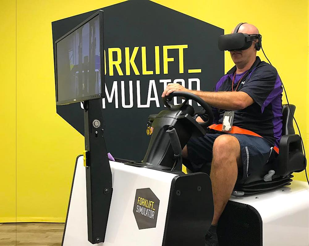 virtual reality job simulator