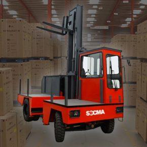 Side Loader Forklift Truck