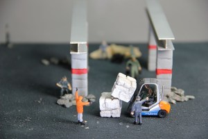 lego forklift and operators