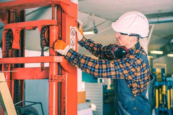 Forklift operator duties