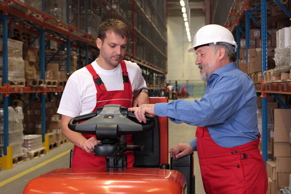 OSHA forklift training certification