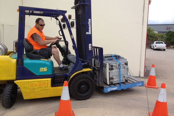 Forklift license test