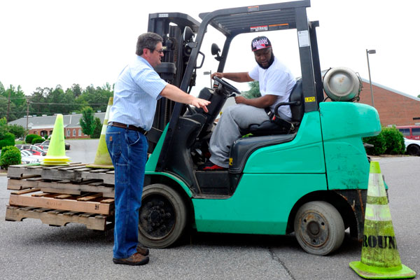 Forklift Train The Trainer Test