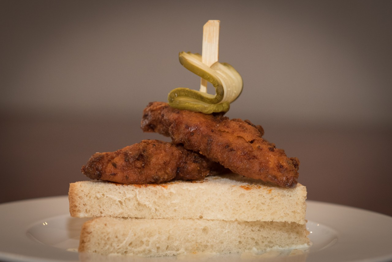 Fork Lore hot chicken appetizer