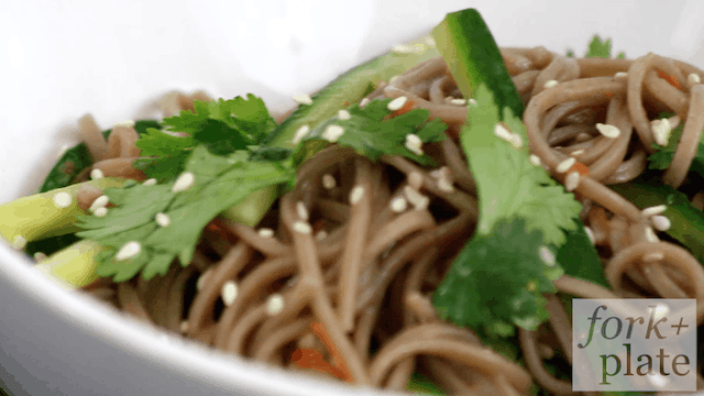 Cold Soba Noodle Recipe