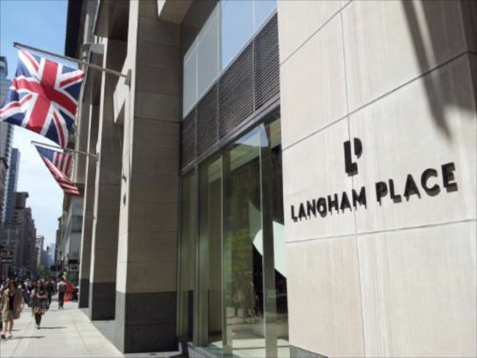 Langham Place Outside