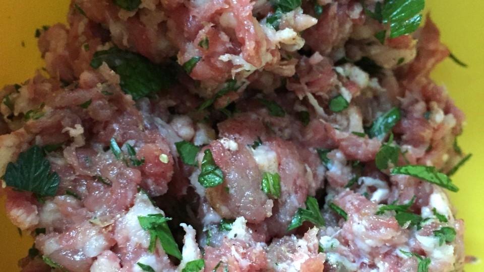 Lamb Meatball Filling