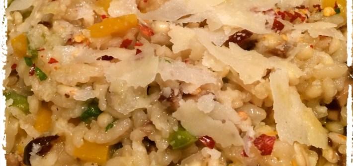 Pearl barley risotto
