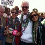 Mardi Gras on the Beach in Pensacola Florida