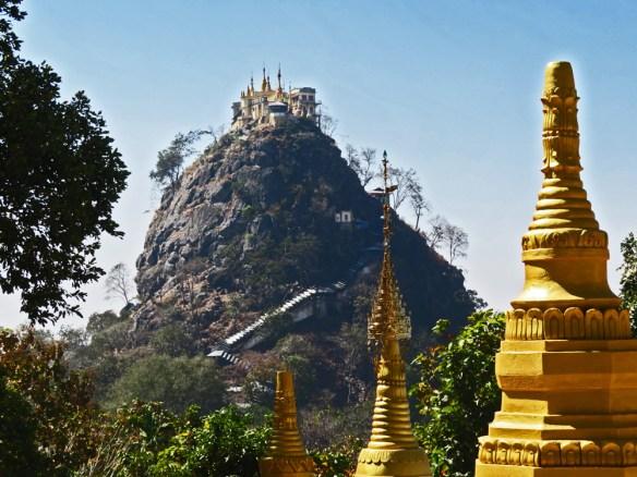 Mt. Popa monastery Amawaterways Cruise Myanmar