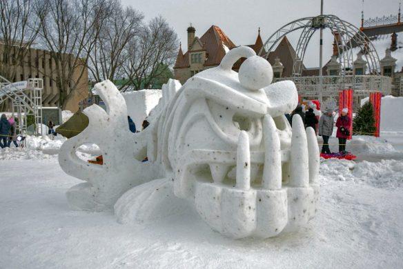 Joyeux Carnaval winning sculpture