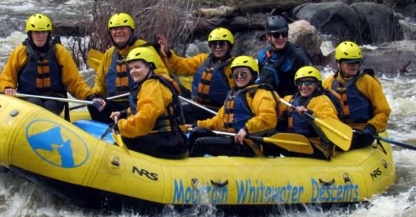 White Water Adventure - A tick on my bucket list