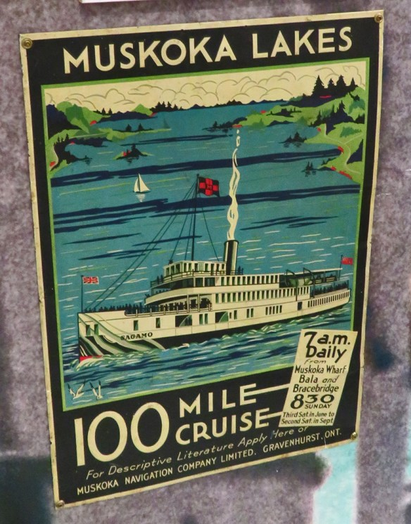 Finding Our Muskoka Soul -poster for 100 Mile Cruise