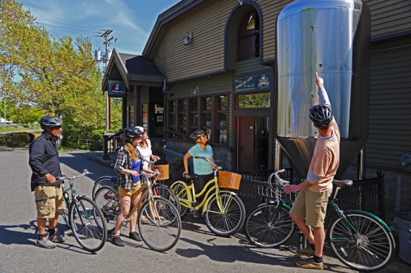 Craft brewery and bikes - Bikes and Brews - Victoria, BC