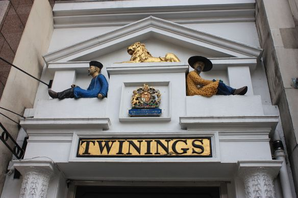 Thomas Twining's tea shop - Have a cuppa - it's tea time