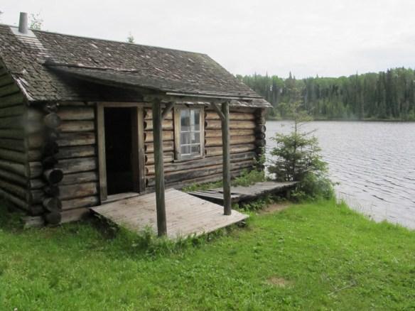 Grey Owl's cabin - In search of a Legend - Grey Owl