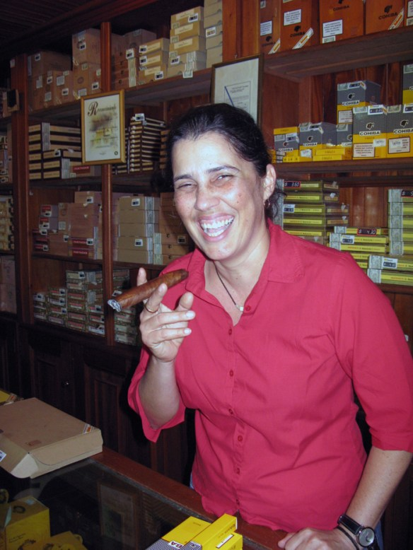 woman with cigar - The Perfect Cigar