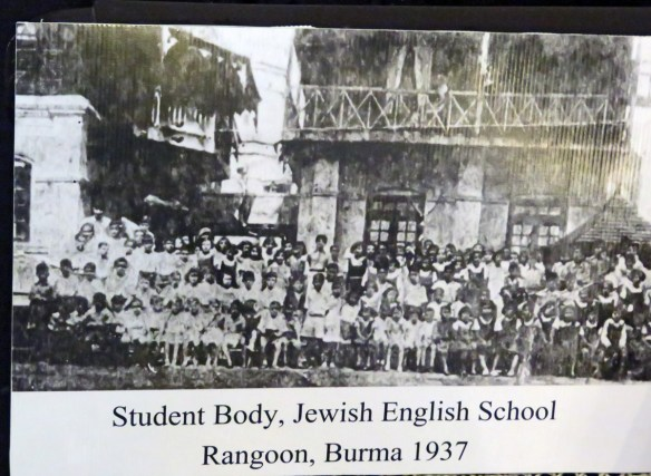 black and white photo of students in 1937