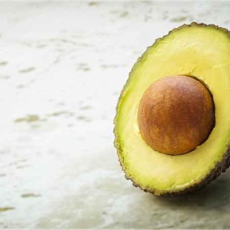 sliced avocado