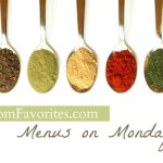 Menus on Mondays – 10/8/12