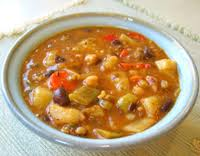 barley bean veggie soup