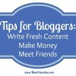 Get Schooled in Blogging