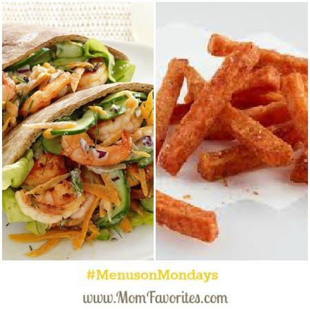 pita and fries