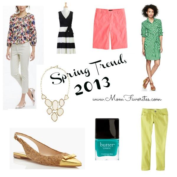 spring trends 2013