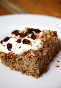apple cin quinoa bake
