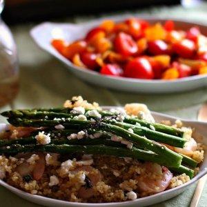 shrimp asp quinoa