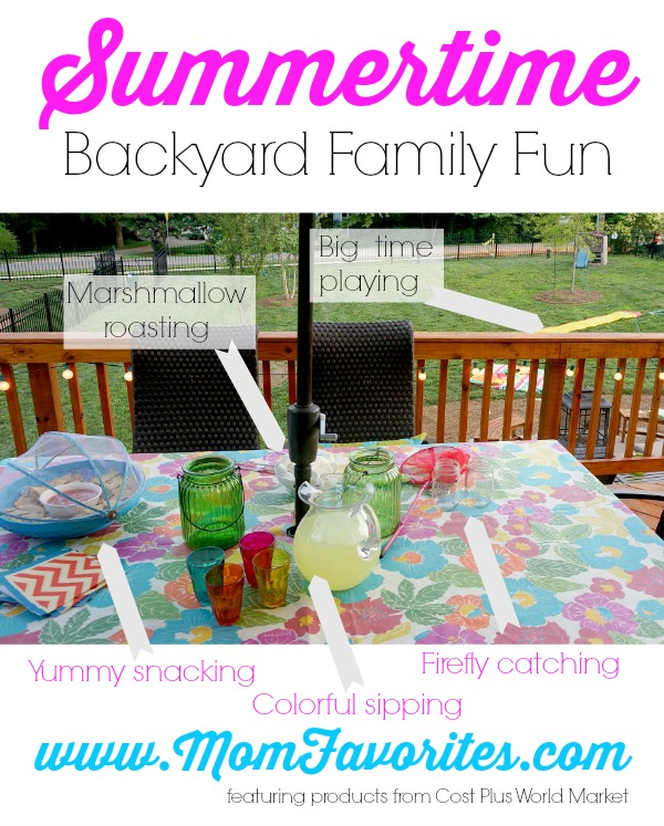 Summertime Backyard Family Fun