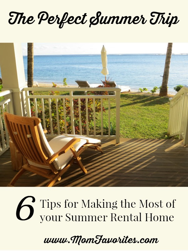 summer rental home tips