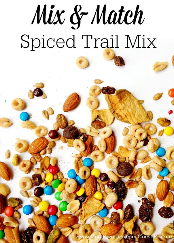 Spiced Trail Mix, www.MomFavorites.com