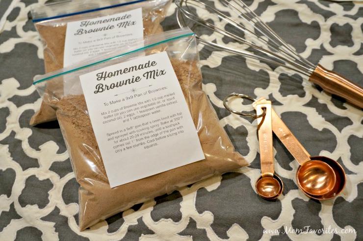 DIY Brownie Mixes for Holiday Gifts, Hostess Gifts and Bake Sales | Edible GIfts