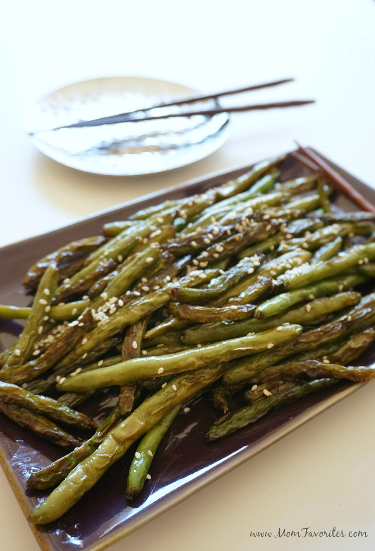 Simple Fall Sides - Recipes for Sesame Soy Green Beans, Herbed Sweet Potato Mash and Balsamic Butter Asparagus | Vegetarian
