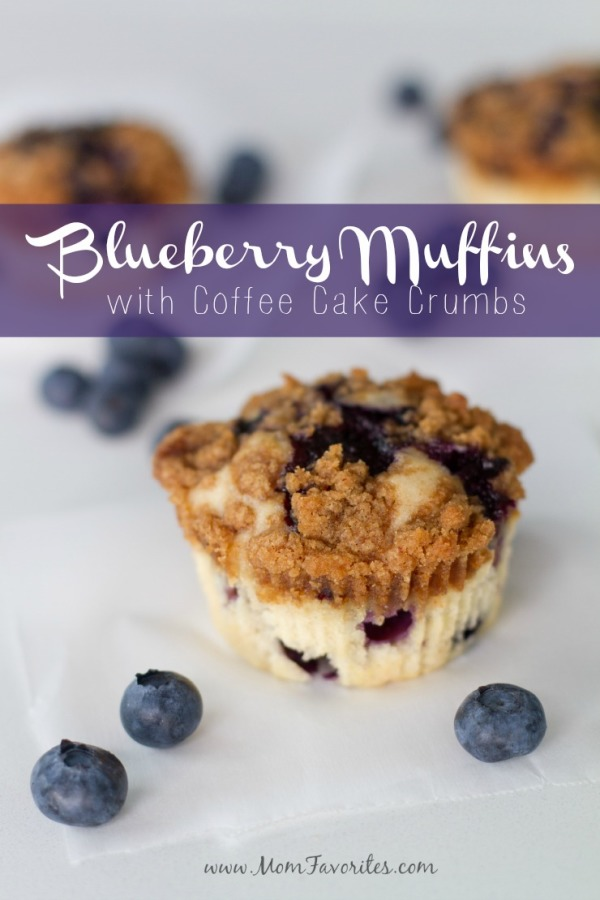 Blueberry Muffin with Crumb Topping, Month of Meals menu & recipe collection