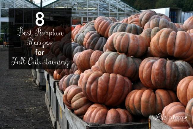 8 Best Pumpkin Recipes for Fall Entertaining