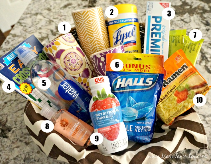 Create this ultimate Get Better Gift Basket for a loved one this winter season. Get the complete list of supplies for your wellness basket here!