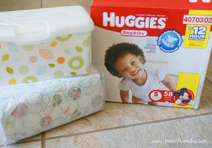 Emergency Diaper Change Car Kit