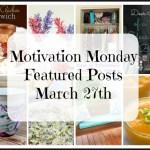 Motivation Monday Linky Party 185