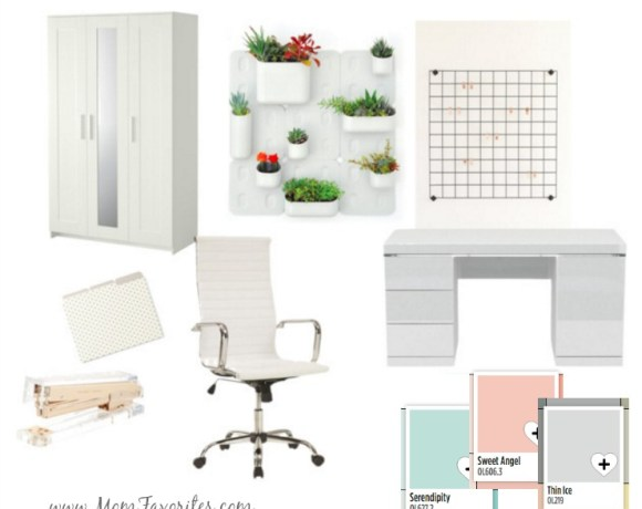 Stage 1 of my DIY Home Office Makeover: Managing the chaos, planning the makeover and finding inspiration.