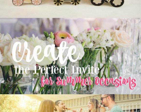 Create the perfect invite for all of your summer occasions with Basic Invite!
