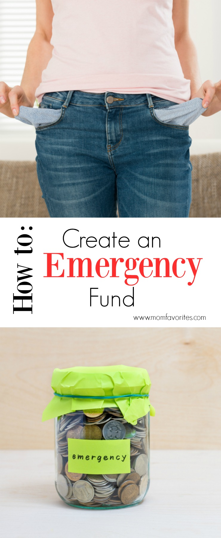 Emergencies are planned for, but you can be prepared. Be sure to get the deets on how to create an emergency fund.