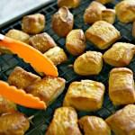 Homemade Pretzel Nuggets with Cajun Mustard Dip