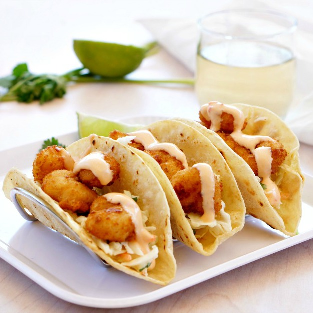 Make this popular dish at home with our amazing and easy Bang Bang Style Shrimp Tacos recipe! Featuring popcorn shrimp from Sea Pak and a bang bang style sauce that you'll want to put on everything, this will become a favorite family recipe!