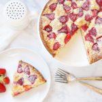 Strawberry White Chocolate Cake: #52WeeksofSweets, Week 4
