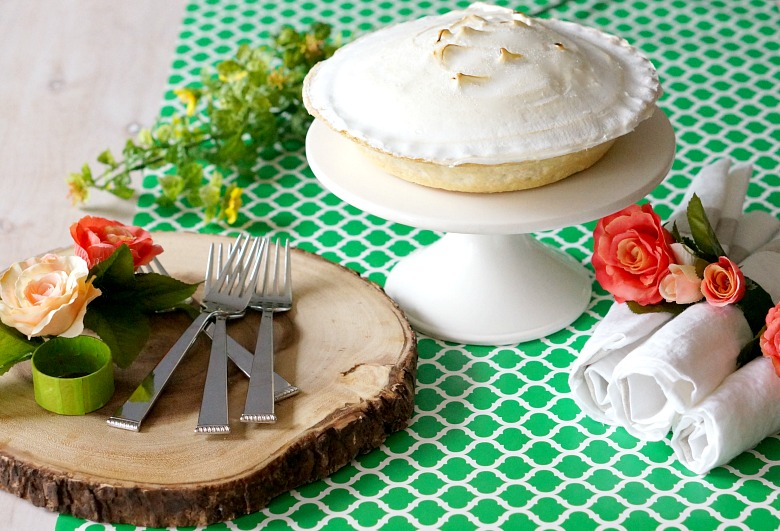Entertaining this spring? Create a dessert table for your Easter or Mother's Day party on a budget with these tips, including a super-easy tutorial for DIY Floral Napkin Rings.